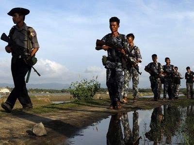 Myanmar Police. | Representative Image